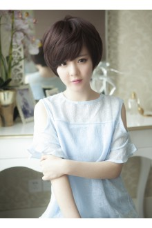 Short Curls Handsome Lolita Wig 3 Colors