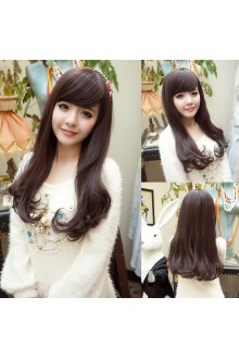 Long Curls Natural Fidelity Loose Coil of Hair Lolita Wig 3 Colors