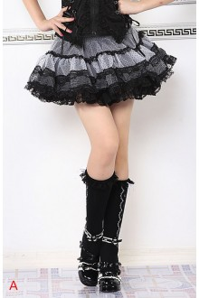 GLP Princess Lace Chiffon Sweet Lolita Bubble SK