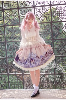 Milu Forest Sleeping Curse Sweet Lolita SK Dress