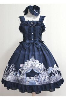 Milu Forest Sleeping Curse Sweet Lolita JSK Dress Version Ⅱ