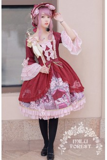 Milu Forest Sleeping Curse Sweet Lolita OP Dress