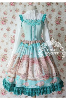 Milu Forest Pride and Prejudice Sweet Lolita JSK 3 Colors