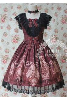 Milu Forest Seven Deadly Sins Gothic Lolita JSK 3 Colors