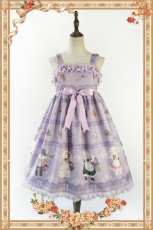 Infanta Berry Cat Sweet Lolita JSK 3 Colors
