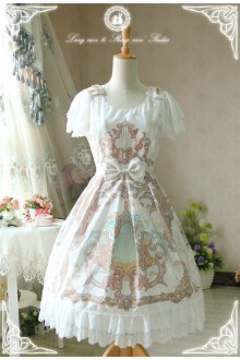 Fairydream Long Ears and Pointed Ears Lyra Sweet Lolita OP Dress Version Ⅰ