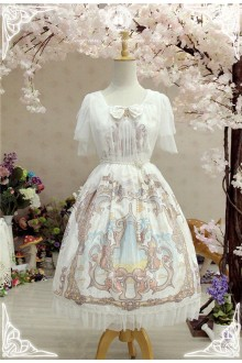 Fairydream Long Ears and Pointed Ears Lyra Sweet Lolita OP Dress Version Ⅱ
