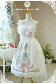 Fairydream Long Ears and Pointed Ears Lyra Sweet Lolita JSK Dress Version Ⅱ