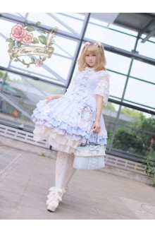 Fairydream Gorgeous Charlotte Empire Claudia's Heart Gothic and Sweet Lolita JSK Dress 4 Color