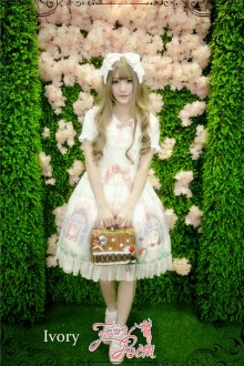 Fairydream Lolita Fairy Poem Sweet Lolita JSK Dress 3 Colors