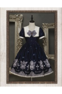 Ista Mori My Little Angel  Short Sleeves Sweet Lolita OP Dress