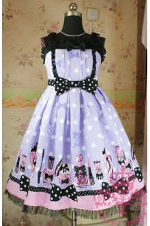 Vintage Fantasic Dolly Sweet Lolita Suspender JSK Dress