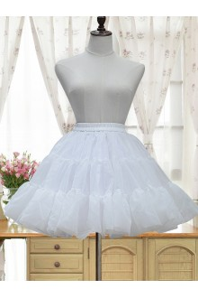 Glass Yarn Puff Lolita Petticoat