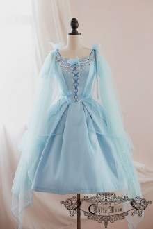 Blue Cinderella Sweet Lolita JSK Dress
