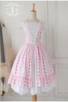Vintage Sally's Garden Elegant Sleeveless Sweet Lolita Dress
