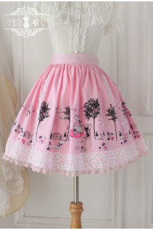 Pink Cat Afternoon Tea Fairy Tale Sweet Lolita SK
