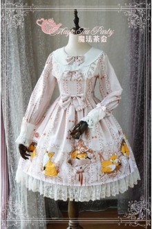 Magic Tea Party Four Seasons of Antonio Original Printing Sweet Lolita OP Dress