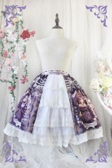 Princess Cat Rose Wishes Chiffon Sweet Lolita SK 3 Colors