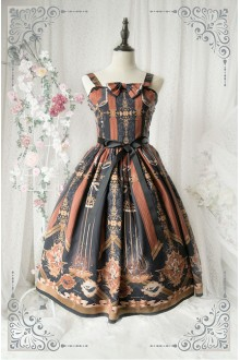 Princess Cat Cageling Chiffon Sweet Lolita JSK Dress 3 Colors