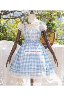 Tiny Garden Summer Stars Chiffon Sweet Lolita Dress 4 Colors
