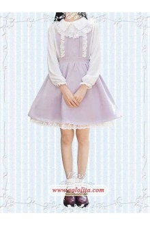 Tiny Garden Light Purple Lovely Girl Autumn Winter Sweet Lolita Jumper JSK Dress