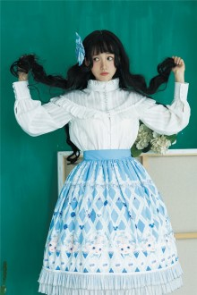 Four Color Doll Chiffon Sweet Lolita SK 4 Colors