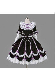 Dreamy Elegant Princess Lace Collar Classic Lolita Dress