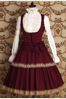 Vintage Noble Temperament Lace Classic Lolita Dress