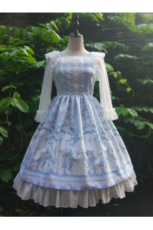 MILU Original Palace Ceremony Sweet Lolita JSK Dress