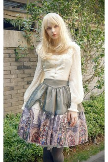 Neo Ludwig Vintage Borgia Color Windows Golden Church Classic Lolita SK