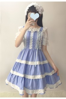 Lace Sleeveless Sweet Lolita JSK Dress 2 Colors