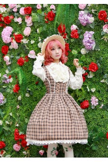 Neverland Poems of Oceangoing Voyage High Waist Sweet Lolita JSK Dress