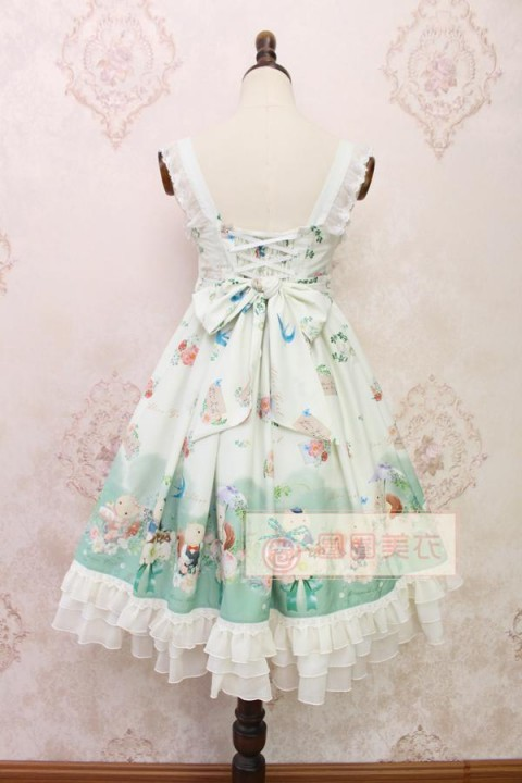 Cheap Light Green Alice Girl The Garden Diaries Of