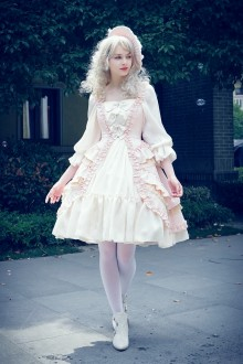 Neo Ludwig Ten O'clock Cinderella Fetes Galantes Sweet Lolita OP Dress