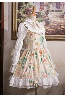 Flower Language Melody Sweet Lolita OP Dress 3 Colors