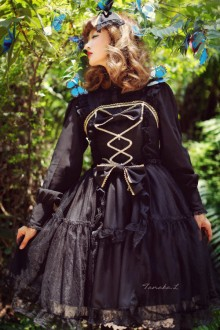 Black Pegasus Sweet Lolita JSK Dress
