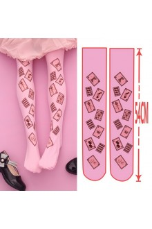 Alice Poker Printing Sweet Lolita Socks 3 Colors