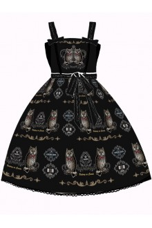 Sweet Owl Printing Sweet Lolita JSK Dress 4 Kinds of Style