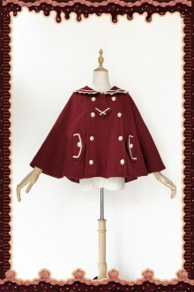 Infanta College Style Bear Ear Cloak 4 Colors
