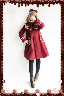 Infanta New Naval Collar College Style Sweet Lolita Coat 3 Colors