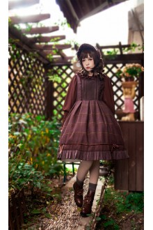 Coffee Infanta Sugar and Matcha Sweet Lolita JSK Dress