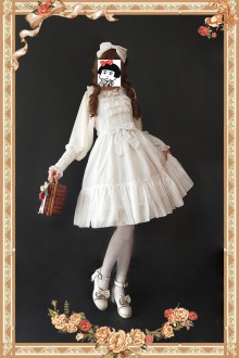 Infanta Little Mary Sweet Lolita JSK Dress 3 Colors