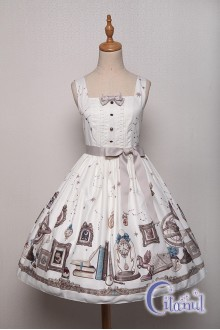 Ivory Citanul Astrologer's Mysterious Sanctum Sweet Lolita JSK Dress