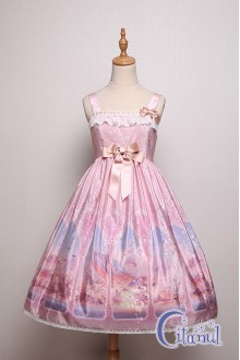 Pink Citanul Kitty's Illuson Sweet Lolita JSK Dress