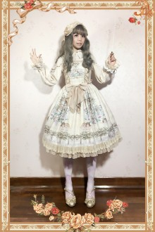 Infanta Angel Music Chapter Sweet Lolita JSK Dress 4 Colors