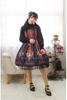 Neverland Love Rococo Sweet Lolita JSK Dress 3 Colors