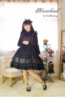 Black Neverland Dead Souls Judge Sweet Lolita JSK Dress