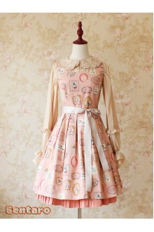 [EAT ME, ALICE] Sweet Lolita JSK Version One 3 Colors
