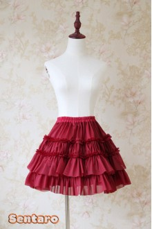 Puffs Elegant Sweet Lolita Skirt 10 Colors