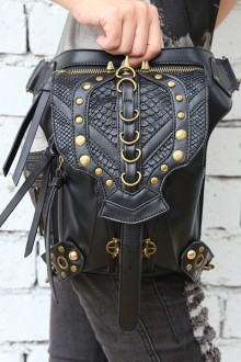 Women's Vintage Steampunk Shoulder Bag Crossbody Bag